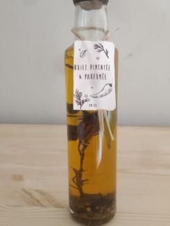 huile pimentee